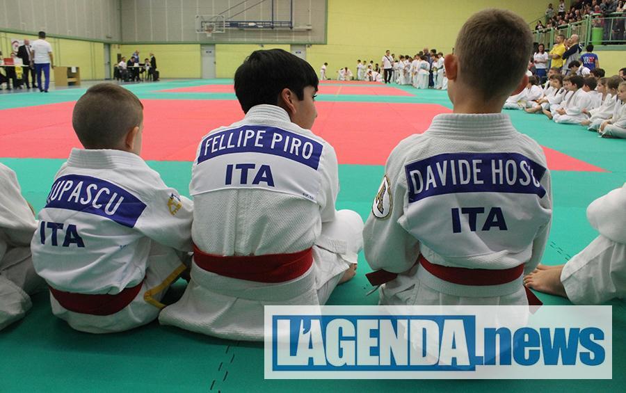 Bene i ragazzi del judo dell'Accademia Giaveno