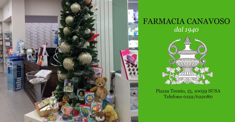 Alla Farmacia Canavoso a Susa tante idee per il vostro Natale
