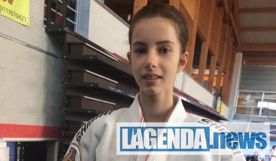 Judo a Giaveno: Rebecca Musch medaglia d'argento