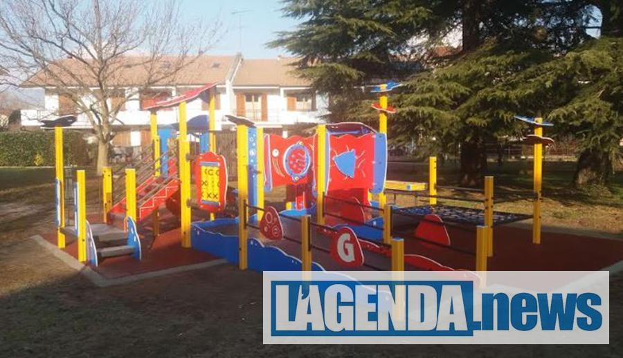 A Buttigliera Alta i parchi giochi con l'accesso per disabili