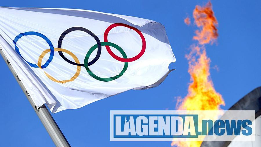 La bandiera delle Olimpiadi
