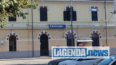 Sant'Ambrogio, la stazione ferroviaria