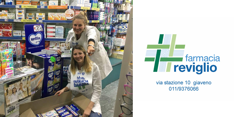 """Settima edizione di """"In farmacia per i Bambini"""" alla Farmacia Reviglio di Giaveno mercoledì 20 novembre - http://www.lagendanews.com"""