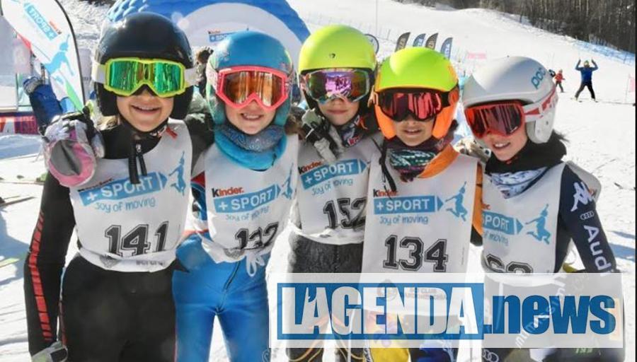 Bardonecchia il Trofeo Kinder+Sport con 960 sciatori in gara
