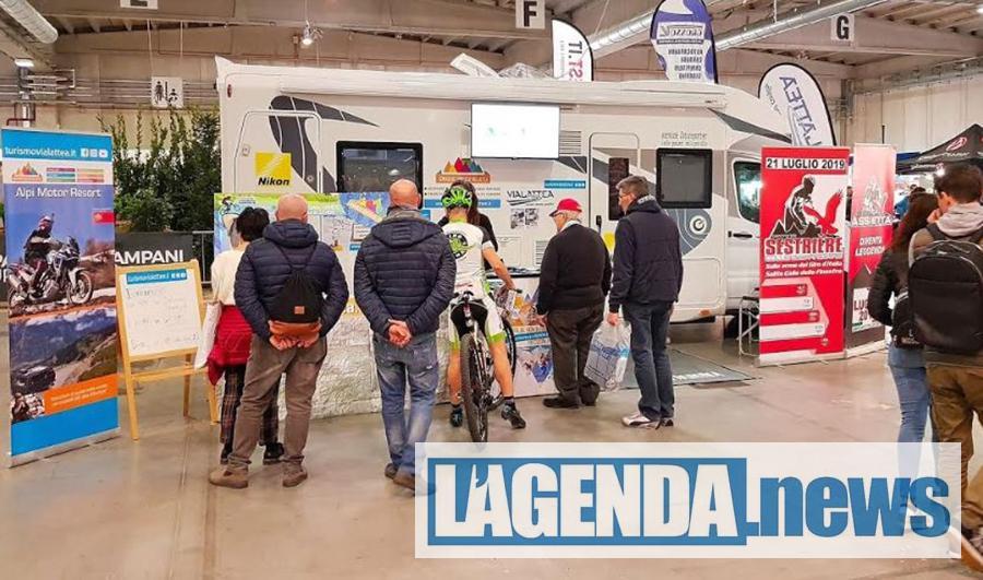Le montagne olimpiche della Vialattea come destinazione estiva ed invernale al Travel Outdoor Fest di Parma