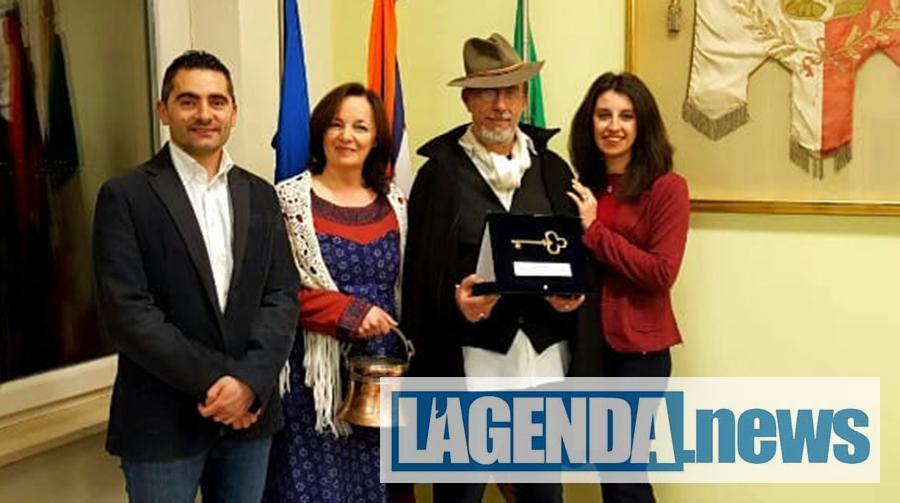 Rosta, per il carnevale riconfermati Bruna e Sebastiano Iacopelli in qualità di Panadera e Panadè