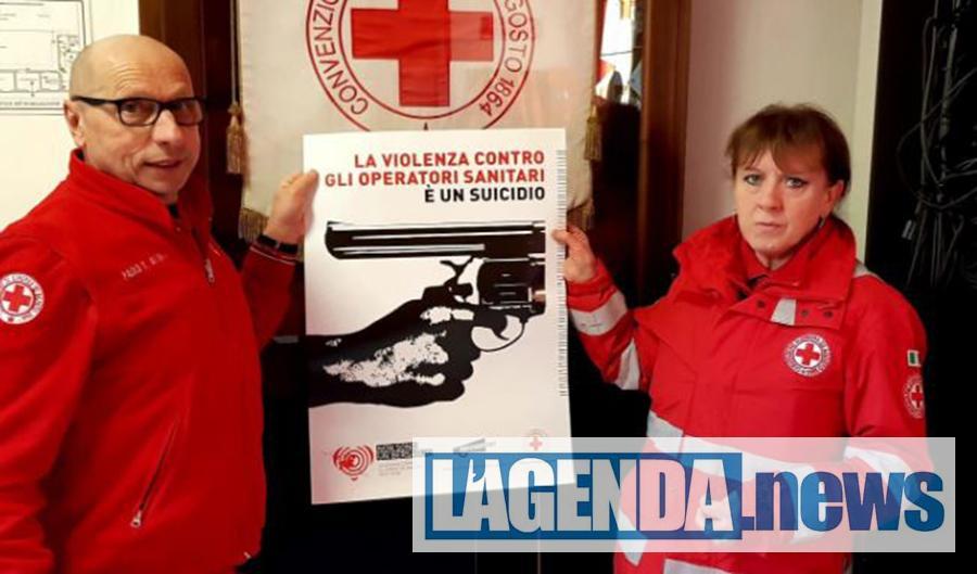 """La Croce Rossa di Susa aderisce alla campagna di sensibilizzazione """"Non sonoun bersaglio"""""""