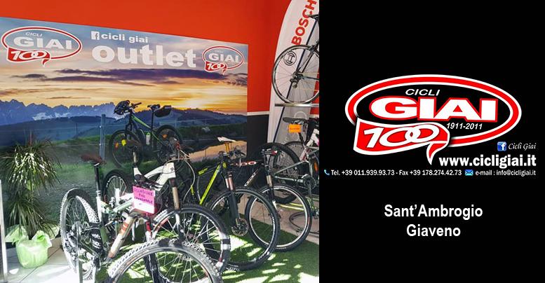 Cicli Giai partecipa alla Notte Bianca di Giaveno sabato 27 luglio