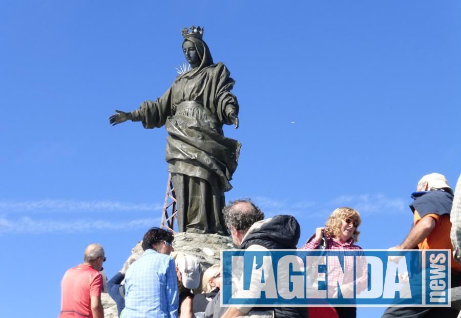 Rocciamelone statua Madonna
