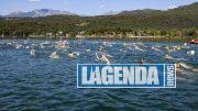 Nuoto nel lago grande