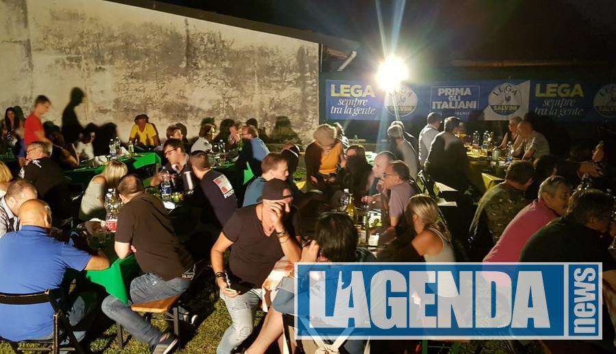 Avigliana, più di 200 alla festa della Lega a Drubiaglio