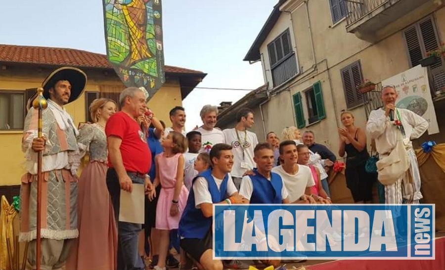 Palio di Alpignano, i Cossot più veloci sono italiani del Borgo San Giacomo