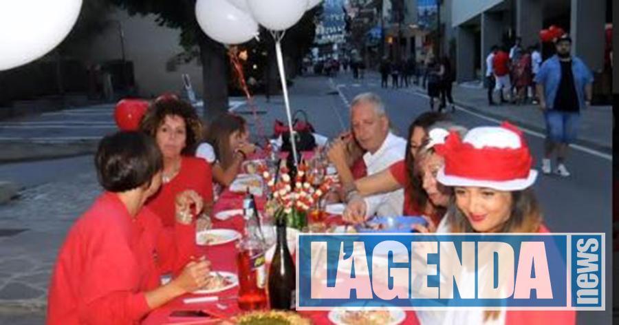 Bardonecchia Cena Bianco Rosso