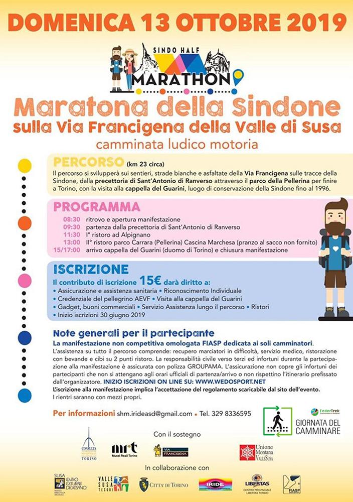 maratona sindone