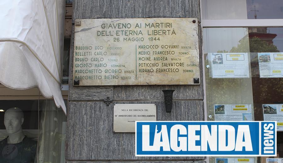 A Giaveno il ricordo dei partigiani e del rastrellamento - http://www.lagendanews.com
