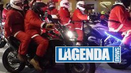babbo natale moto