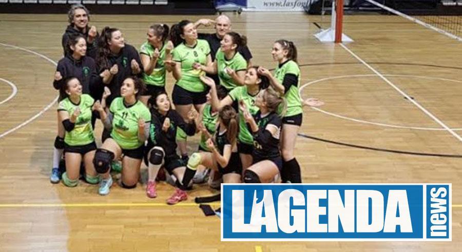 Pallavolo Giaveno: due vittorie importanti per le ragazze nero-verdi