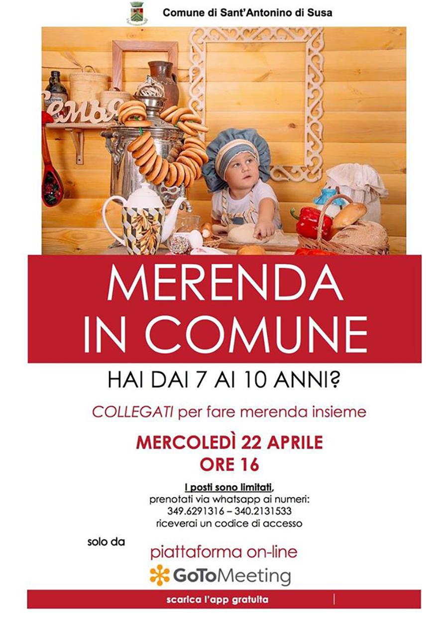 Merenda in Comune Sant'Antonino