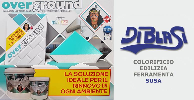 """Al colorificio Di Blasi di Susa """"Overground"""": smalto all'acqua satinato per pavimenti e piastrelle"""
