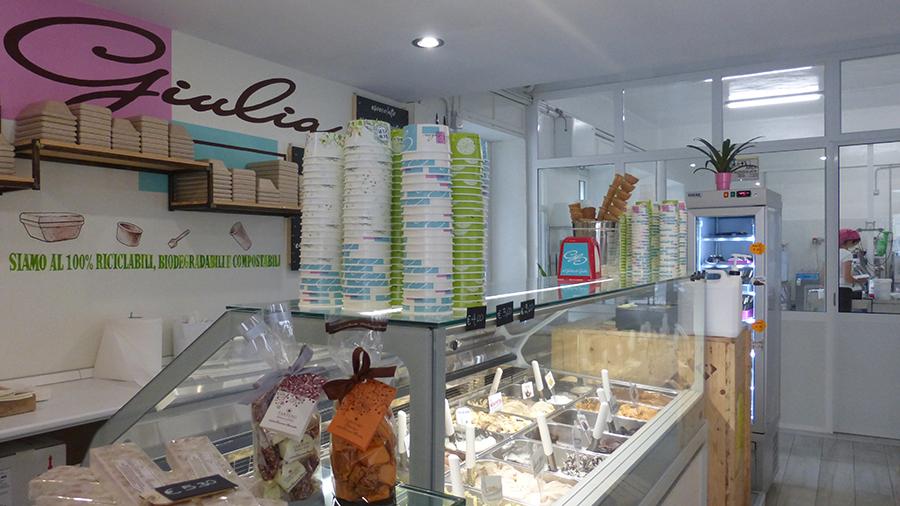 """""""Il gelato di Giulia"""" a Borgone"""