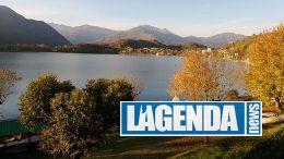 Lago di Avigliana in autunno