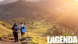 Montagna escursionisti