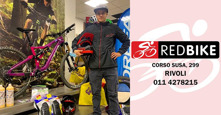 Simone Pelissero Red Bike