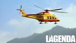 elicottero giallo